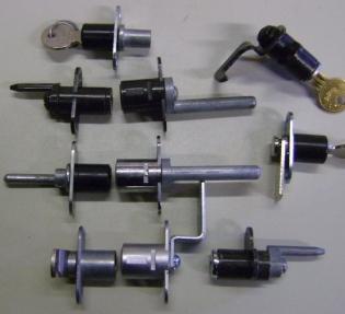 2 Wing Locks Or Surface Mount Locks Or Gang Locks
