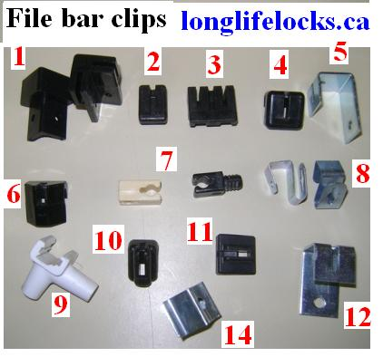 File Bar Clips