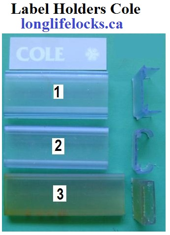 Label Holders For Filing Cabinets