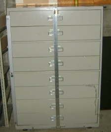 outside lock bar center style for lateral filing cabinet