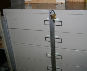 Outside Bar Locks For Filing Cabinets