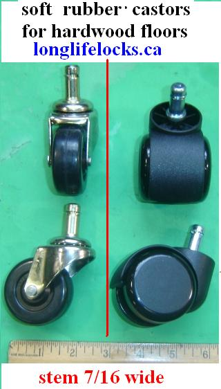Castors Or Wheels For Office Chairs