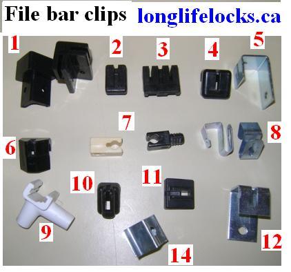 File Bar Clips