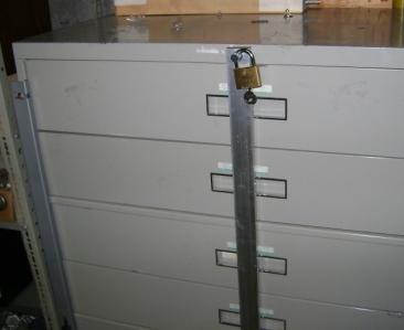 Filing Cabinet Lock Bar   MF Cabinets